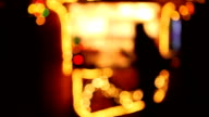 Editorial footage. Christmas markets and fairs in Europe video