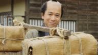 Edo Period Japanese Peasant video