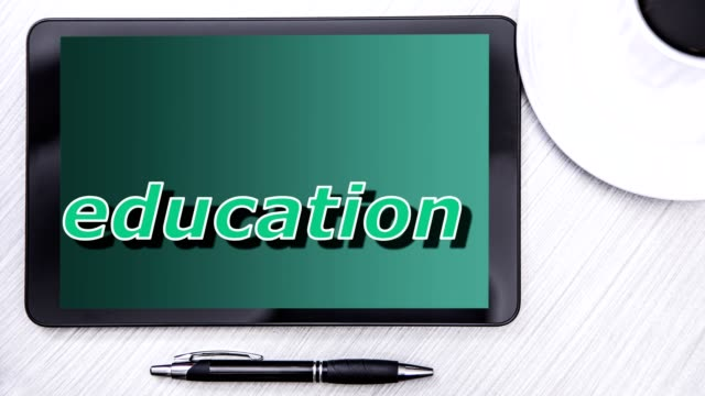 Education - Back to School - Word Clouds video
