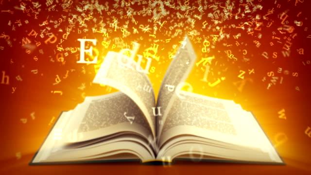 Education. Brown version. video