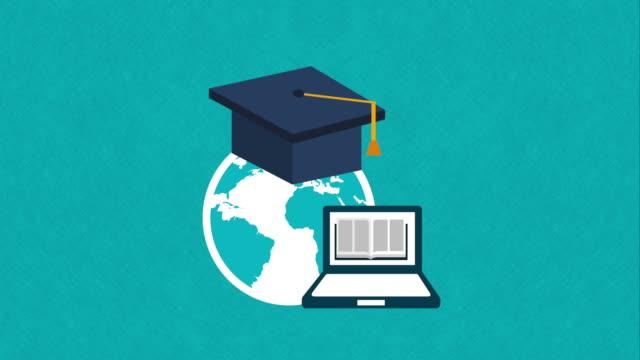 education icon design, Video Animation video