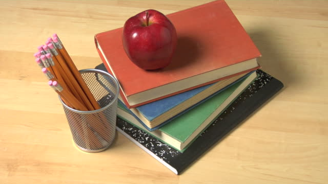 Education still life video