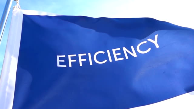 Efficiency Flag High Detail video