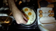 Eggs And Bacon With Basil video