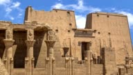 Egyptian temple video