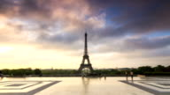 Eiffel hyperlapse video