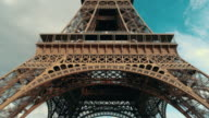 Eiffel tower at daytime. video