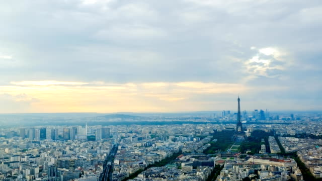 Eiffel tower in Paris, France - Stock Video - Stock Video - Stock Video video