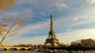 Eiffel Tower in Paris France video