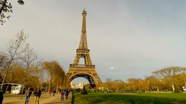 Eiffel Tower in Paris France video