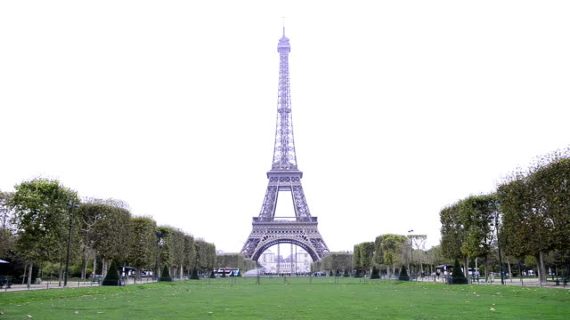 Eiffel tower in Paris video