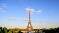 EIffel tower - Stock Video video