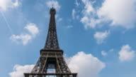 Eiffel Tower, Time Lapse, 4K(UHD) video