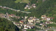 Eisacktal in South Tyrol with Brenner Highway PAN TL video