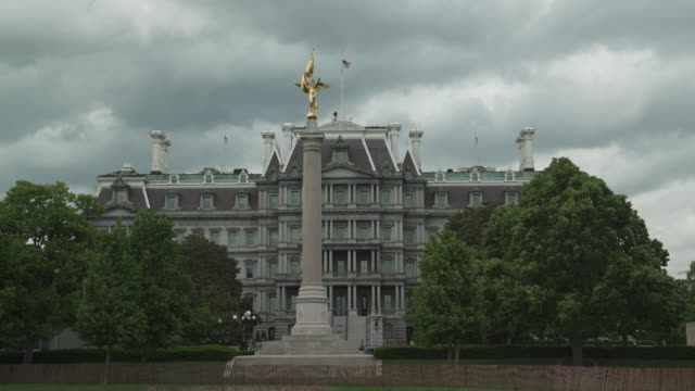Eisenhower Executive Office Building - White House West in 4k/UHD video
