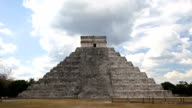 El Castillo (The Kukulkan Temple) of Chichen Itza video