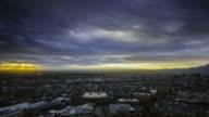 El Paso and Juarez Sunrise video