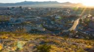 El Paso and Juarez Sunset video