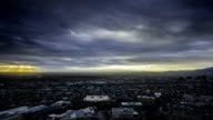 El Paso TX and Ciudad de Juarez Chijuajua sunrise video