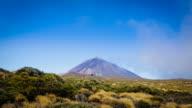 El Teide Volcano Timelapse, Canary islands, Hd Video video