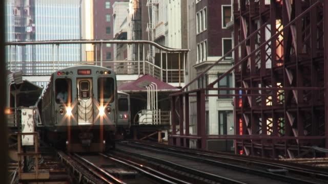 El Train Approaching video