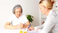Elderly Hands in pain video