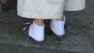 (HD1080i) Elderly Health Issues: Sore Feet video