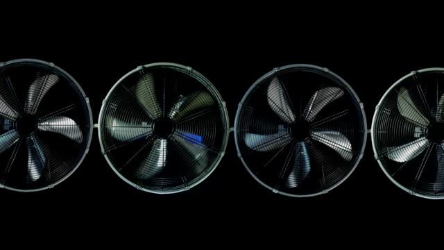 Electric Fan turbines video