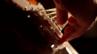 Electric Guitar Strings and Fingers video