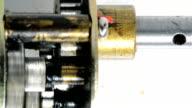 Electric motor gear box video