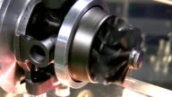 Electric motor spins fast and stops video