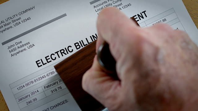 Electric Past Due Bill video