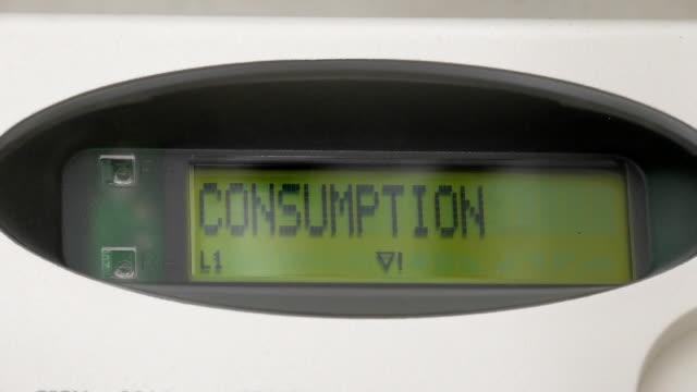 Electric smart meter display video