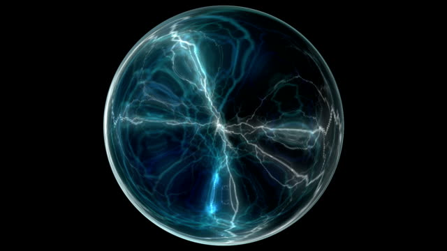 Electrical glass sphere video