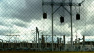 electrical substation, timelapse video