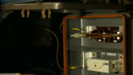 Electrician undergoing renovations. video
