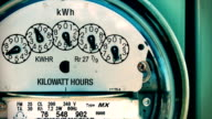 Electricity Meter (Time-lapse) Electrical video
