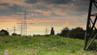 CRANE UP: Electricity Pylons video