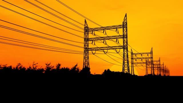 Electricity Pylons video