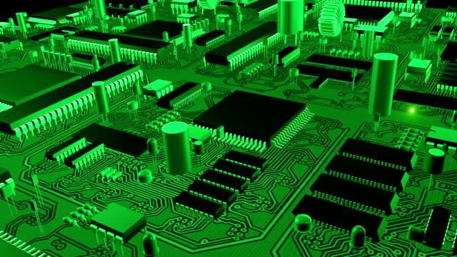 Electronic circuit board video