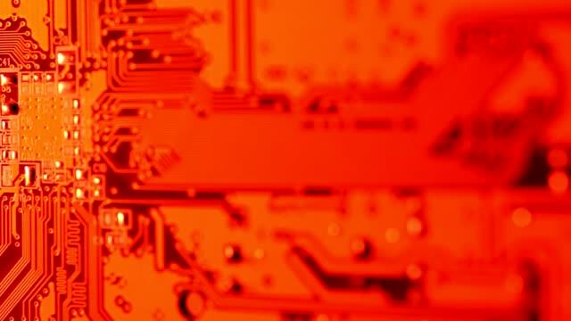 Electronic Circuitboard video