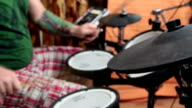 electronic drum video