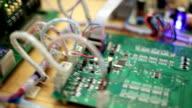 Electronic testing circuit video
