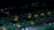 Electronics contract manufacturing. Manufacture of electronic chips video