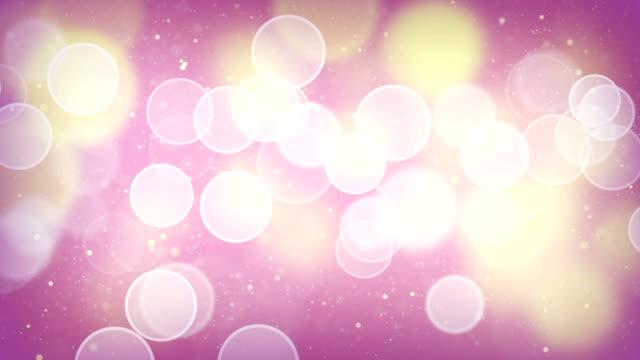 elegant bokeh light loopable background video