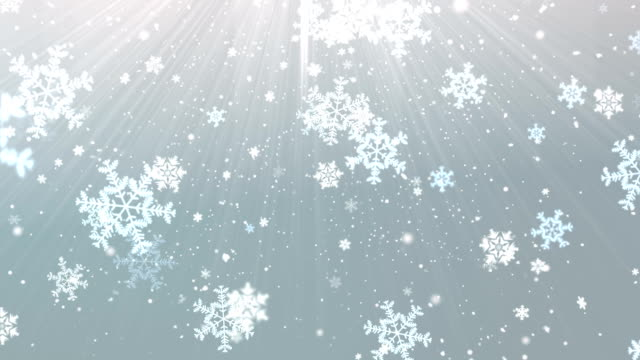 Elegant Snow Flakes 2 video