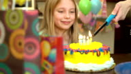 Elementary Age Female Birthday Party video