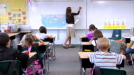 Elementary school classroom video