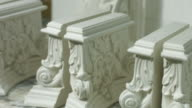 Elements of baroque architecture. video