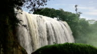 Elephant waterfall in Da Lat, Vietnam video